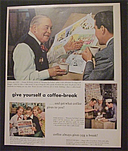 Vintage Ad: 1952 Coffee Break