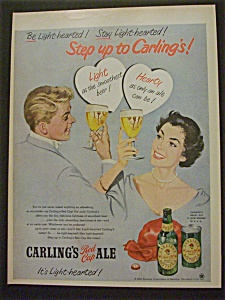 1952 Carling's Red Cap Ale