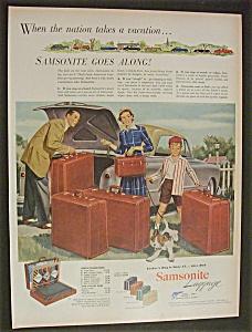 1952  Samsonite  Luggage (Image1)