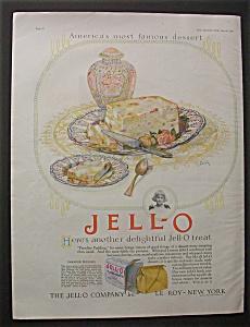 Vintage Ad : 1926 Jell-O & Sun Maid Raisins (Image1)