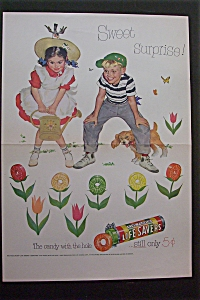 1950 Five Flavor Lifesavers with Boy & Girl  (Image1)