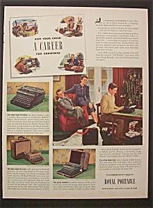 1940  Royal  Portable  Typewriter (Image1)