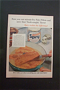 1950's Spry Shortening with Frying Fish Fillets (Image1)