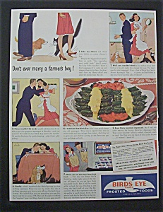 1940 Dual Ad: Birds Eye Foods & Campbell's Soup