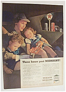 Vintage Ad: 1940 Texaco Dealers Done By Gluyas Williams (Image1)