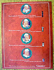 Vintage Ad: 1995 Norelco with Santa Claus (Image1)