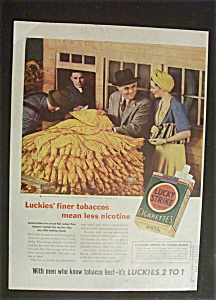 1940 Lucky Strike Cigarettes