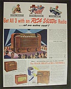 Vintage Ad: 1941 RCA Victor Radio (Image1)