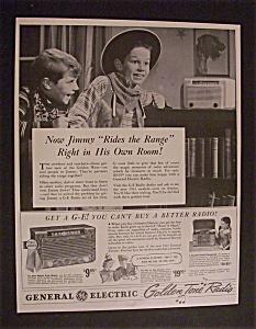 1941  G E  Golden  Tone  Radio (Image1)