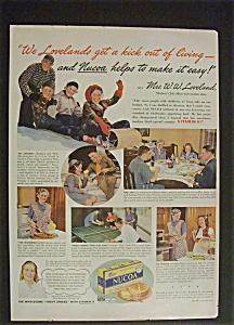 1941 Dual Ad: Nucoa  Margarine  &  Kre - mel  Dessert (Image1)