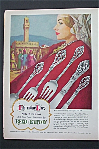 1951 Florentine Lace Sterling with Design of Silverware (Image1)
