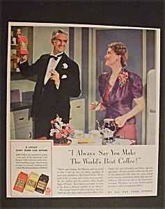 Vintage Ad: 1941  Eight  O  Clock  Coffee (Image1)