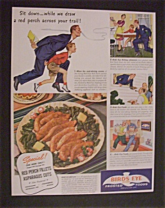 1941 Birds Eye Frosted Foods
