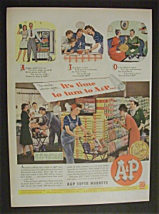 1944 A & P Super Markets