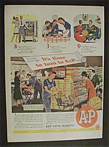 1944  A  &  P  Super  Markets (Image1)