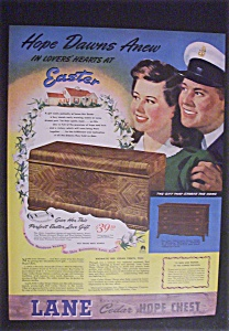 World War Ii 1944 Lane Cedar Hope Chest Patriotic Ad