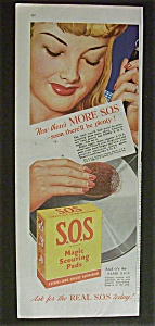 1944 S. O. S. Magic Scouring Pads