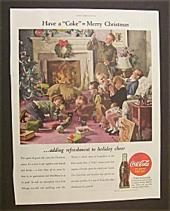 1944 Coca Cola (Coke) with the Family at Christmas (Image1)
