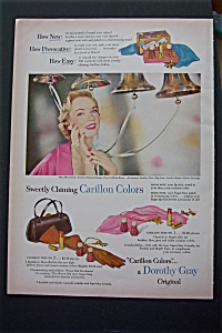 1951 Dorothy Gray With Woman Showing Products