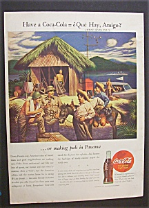 1944 Coca Cola (Coke) With Soldiers