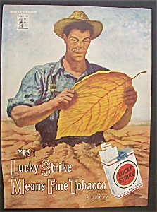 1944 Lucky Strike Cigarettes