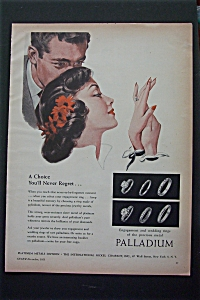 1951 Palladium with Woman Looking At A Ring  (Image1)