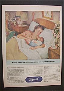 Vintage Ad: 1944  Wyeth (Image1)
