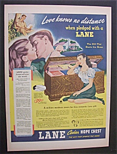 Vintage Ad: 1944 Lane Cedar Hope Chest