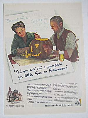 1944 Brewing Industry Foundation w/Man, Woman & Pumpkin (Image1)