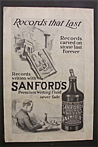 1920  Sanford's  Premium  Writing  Fluid (Image1)