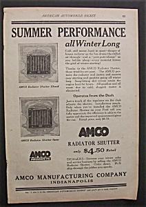 1923  Amco  Radiator  Shutter (Image1)