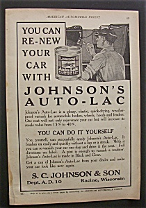 1923  Johnson's  Auto - Lac (Image1)