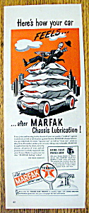 Vintage Ad: 1945 Marfak Lubrication (Image1)