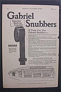 Vintage Ad: 1924 Gabriel  Snubbers (Image1)