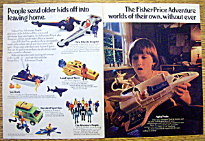 1982 Fisher Price Adventure Kit with Alpha Probe (Image1)