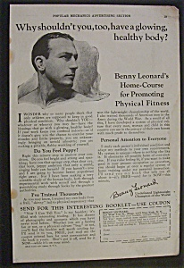 1925  Benny  Leonard's  Home  Course  Ad (Image1)