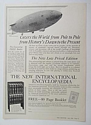 1926 International Encyclopedia w/ The  World's History (Image1)