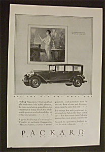 1926 Packard with a Woman Standing by a Packard (Image1)