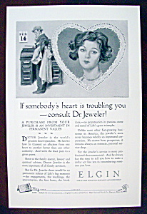 Vintage Ad: 1926 Elgin Watches