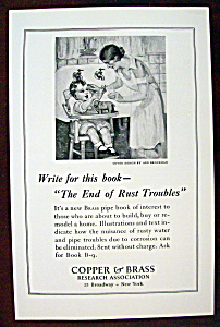 Vintage Ad: 1926 Copper & Brass Research Association (Image1)