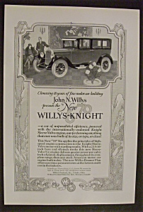 1926 Willys Knight