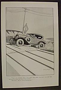 Vintage Ad: 1926 Kelly Springfield Tires (Image1)