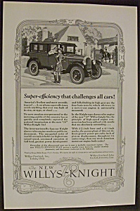 1926 The New 70 Willys Knight Six