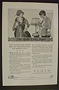 1926 Elgin Watches W/james Montgomery Flagg