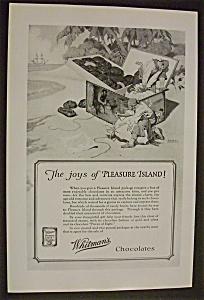 Vintage Ad: 1926  Whitman's Chocolates (Image1)