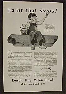 1926  Dutch  Boy  White - Lead  Paint (Image1)