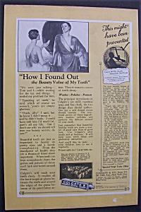 1926 Colgate Ribbon Dental Cream w/Women Talking (Image1)