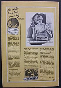 1926 Colgate Ribbon Dental Cream w/Woman & Box (Image1)
