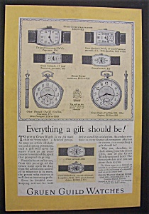 1926 Gruen Watches