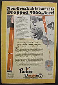 1926 Parker Duofold Pens with Non Breakable Barrels (Image1)